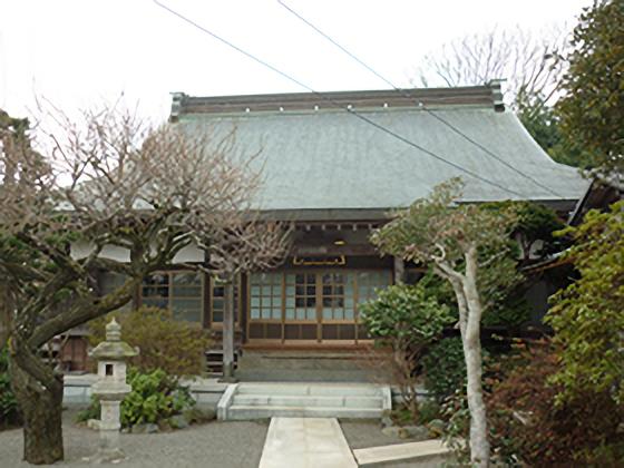 天台宗 妙覚寺 本堂