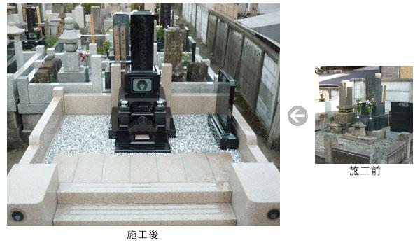 お墓のリフォーム2