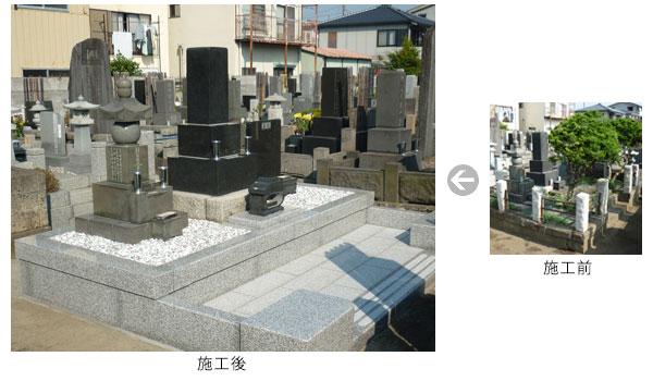 お墓のリフォーム3